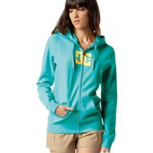 DC Women's Full Zip Fitted Hoodie Sweater